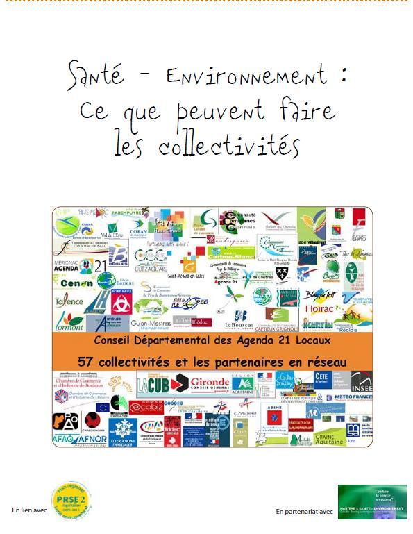 Cahier Expériences Santé-Environnement Gironde