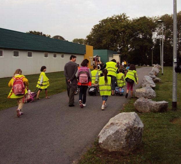 Arrivée à l'école des lilas@Ecocène