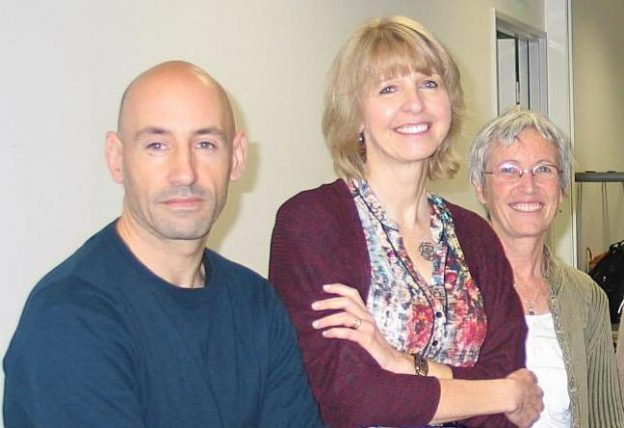 Arnaud Wiehn, Christine Ferron et Dominique Cottereau