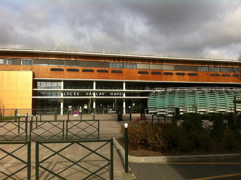 Le lycée Vaclav Havel de Bègles