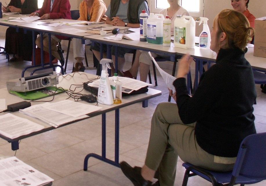 Les ateliers étaient construits autour d'une pédagogie participative©HSEN