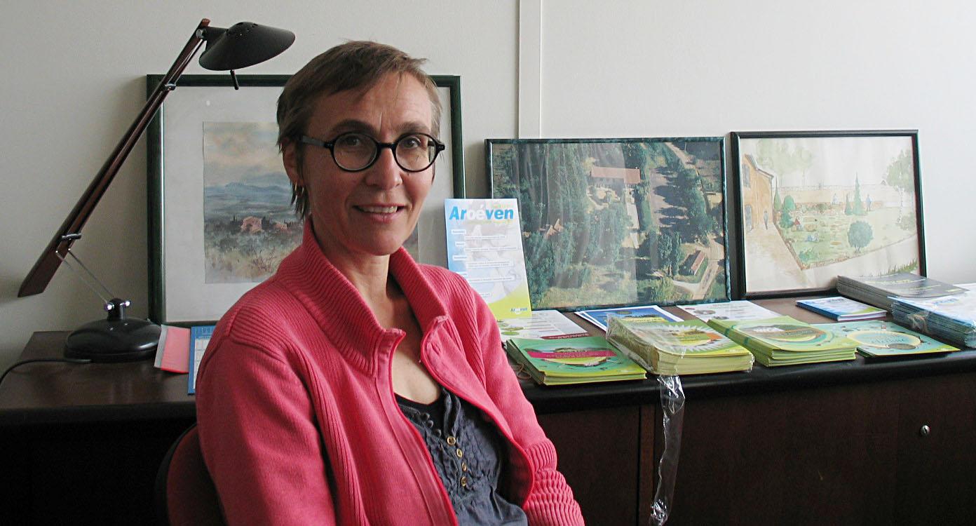 Pascale de Charentenay, directrice de l'AROEVEN