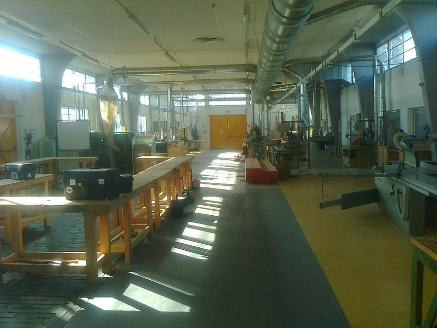 Un atelier bois dans un lycée professionnel d'Aquitaine©CRA