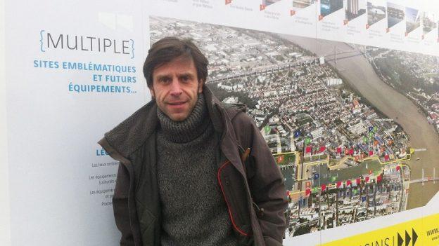 Bob Clément, urbaniste à l'a'urba, équipe Dynamiques Territoriales©GRAINE Aquitaine
