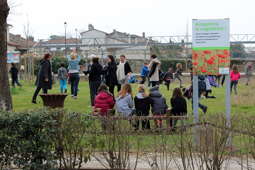 En 10 ans, la graine semée a germé dans tous les espaces communaux©Barsac