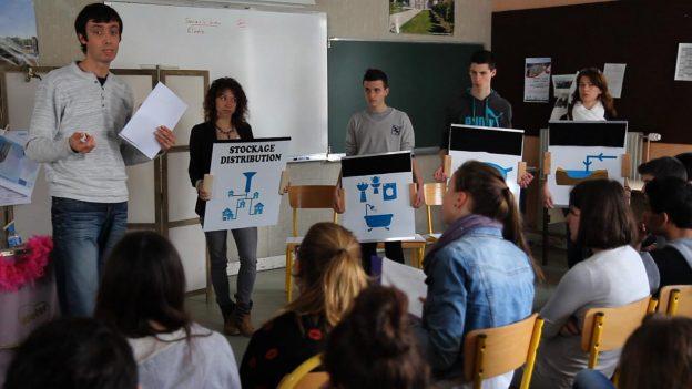 La démarche d'apprentissage par l'action fonctionne bien avec les élèves©GRAINE Aquitaine