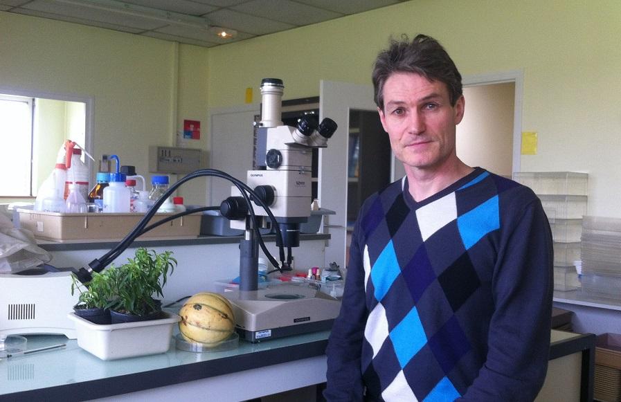 Thierry Ruet, responsable du secteur diagnostic au LDA33