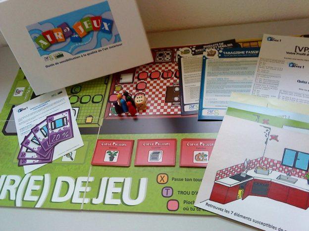 La mallette Air(e) de jeu créée par l'IREPS de Belfort©Air(e) de jeux