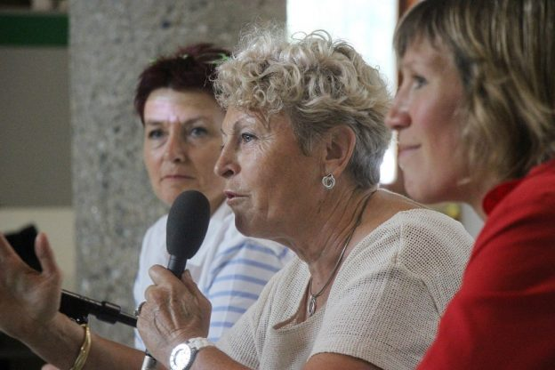 De gauche à droite, Dany Billes-Theux, Suzanne Déoux et Delphine Couralet©GRAINE Aquitaine