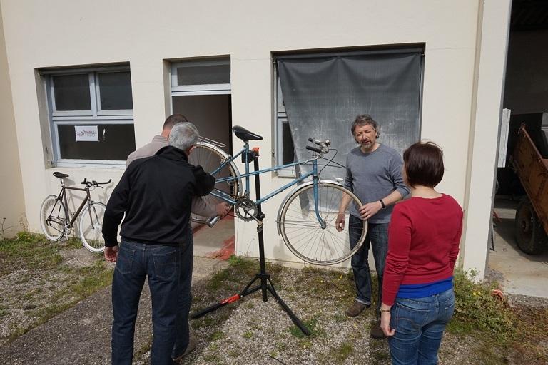 L'atelier vélo ©INRA