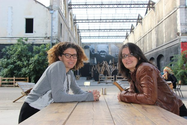 Anne Lafourcade et Stéphanie Bordas