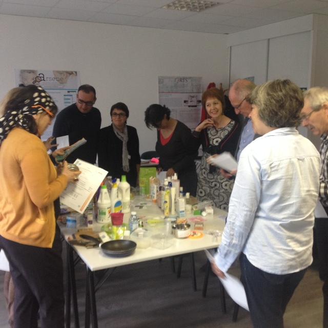 Les ateliers Nesting favorisent l'interaction entre les participants©Olga Diarté