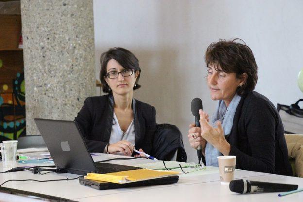 Corinne Mandin et Olga Diarté - 4ème Matinée du jeudi sur la QAI©GRAINE Aquitaine