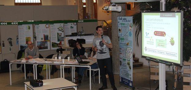 Une trentaine de professionnels ont assisté à la conférence sur la qualité de l'air intérieur©GRAINE Aquitaine