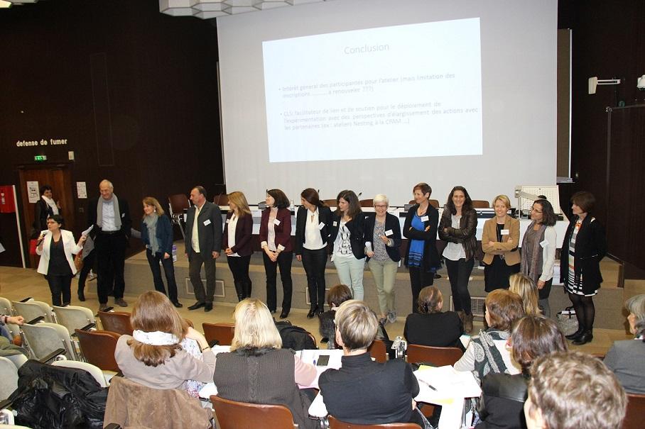 L'équipe du réseau Périnat a organisé la journée santé-environnement©GRAINE Aquitaine