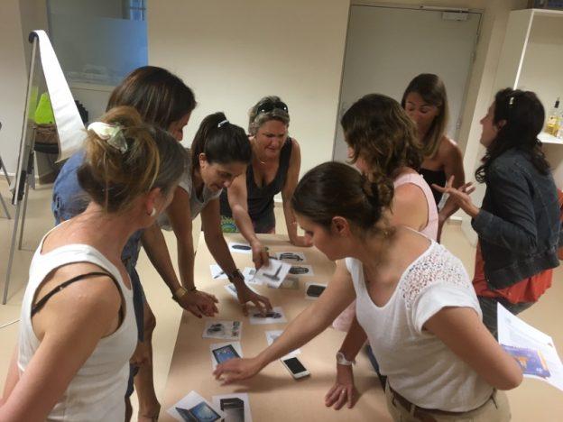 15 sages femmes ont suivi les ateliers du WECF ©Olga Diarte