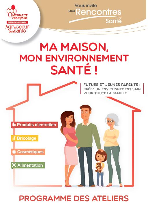 Dépliant Ma Maison Mon Environnement santé-MFPC