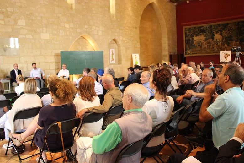 La salle des Dominicains était pleine pour la table ronde ©GRAINE Aquitaine