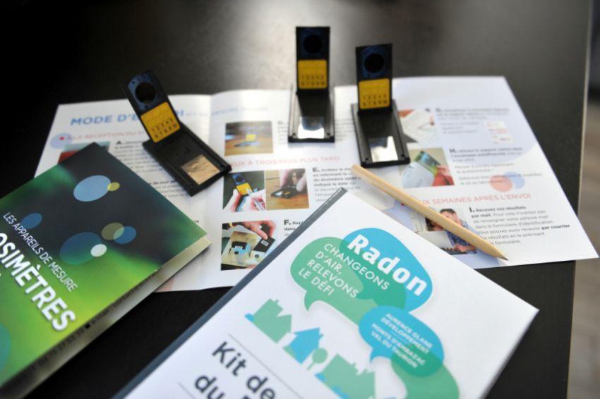 Mille kits ont été proposés aux familles intéressées©IRSN