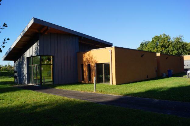 Bâtiment conçu dans le respect de la qualité de l'air extérieur et intérieur ©LIMAIR