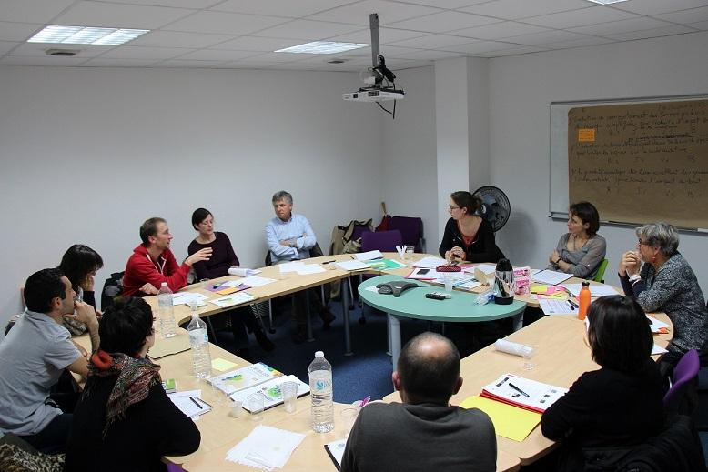Une douzaine de participants étaient présents pour travailler sur la prévention des risques auditifs©GRAINE Aquitaine