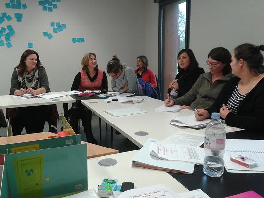 Les ateliers sont ludiques, interactifs et valorisent les pratiques des participants©Mutualité Française Limousin