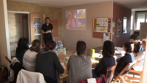 Le logement pédagogique permet de se projeter plus facilement en situation©GRAINE Aquitaine
