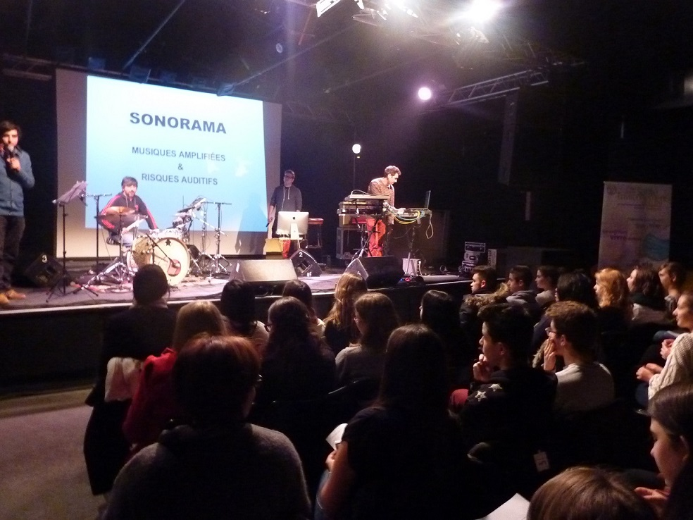 En 2013-2014, 850 lycéens ont assisté au concert Sonorama © PRMAP-Ch