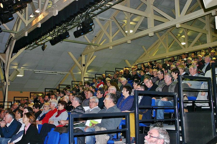 180 élus et techniciens ont assisté à la rencontre©CAUE 40