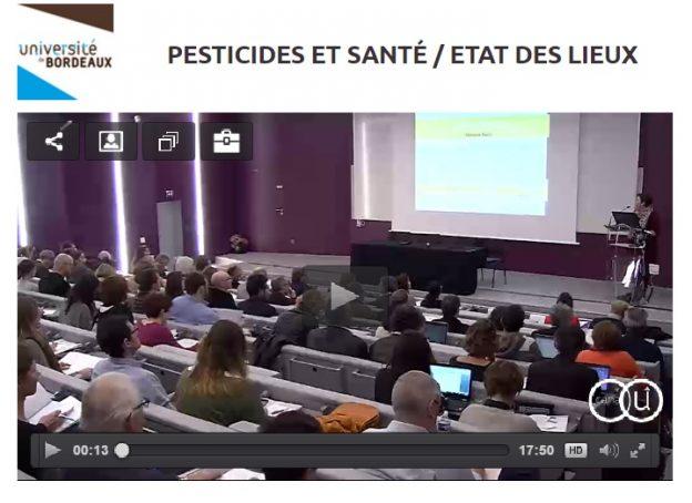 Les interventions ont été filmées et mises en ligne sur Canal U©GRAINE Aquitaine