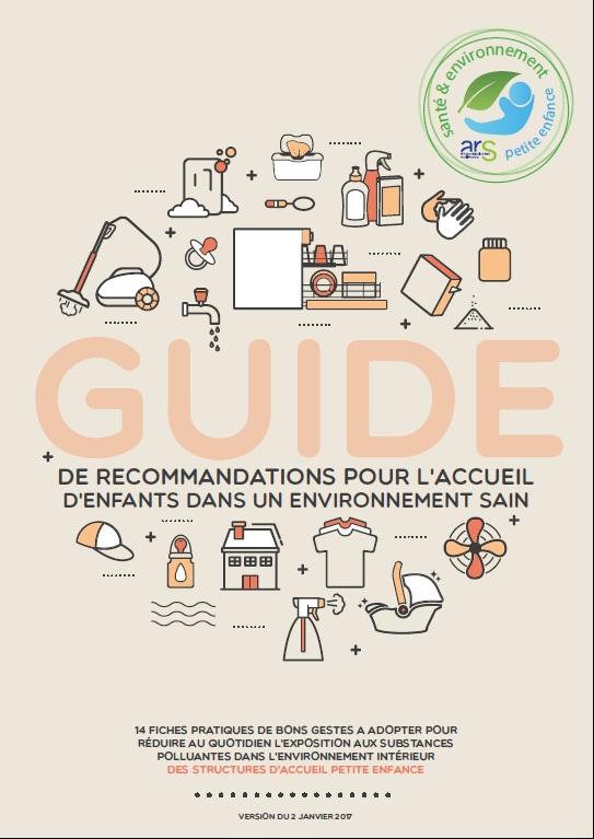 RecoCrèche, un guide de recommandations pour les structures d'accueil petite enfance©ARS Nouvelle-Aquitaine