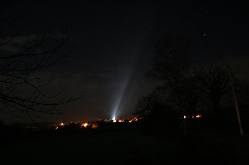 La pollution lumineuse est suspectée de dérégler l'horloge biologique©ANPCEN