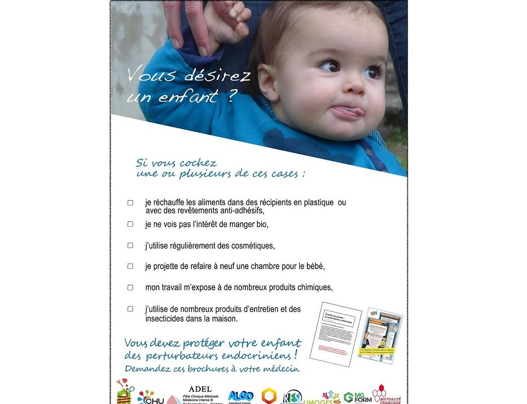 Lancement de la campagne Perturbateurs endocriniens en mai 2016©AMLP