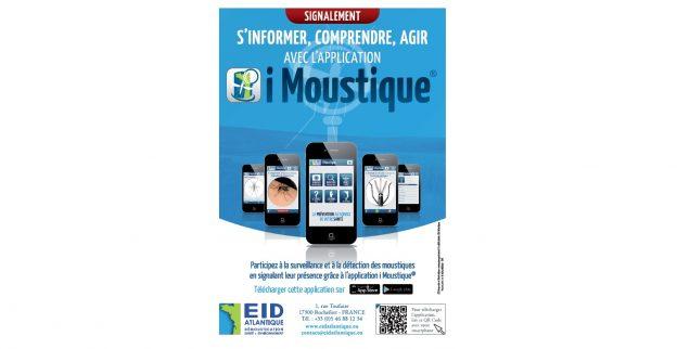 L'application permet de signaler la présence du moustique-tigre © tous droits réservés www.yanngautreau.fr