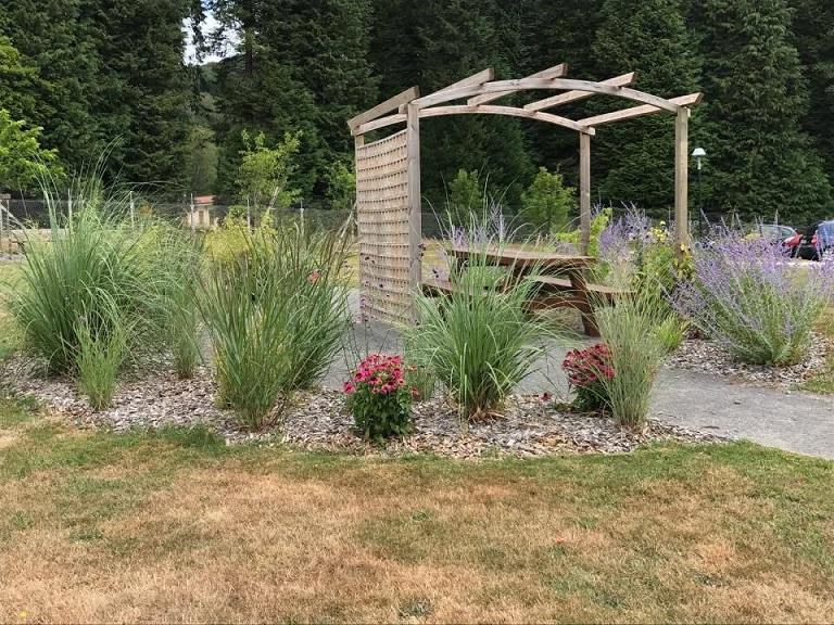 Le jardin est un outil d'accompagnement de bien-être©CH La Valette