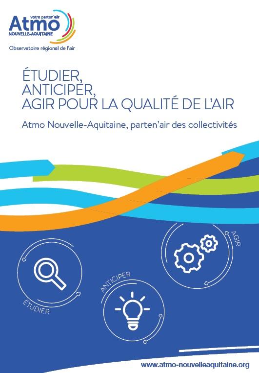 La brochure d'ATMO Nouvelle-Aquitaine © Atmo NA