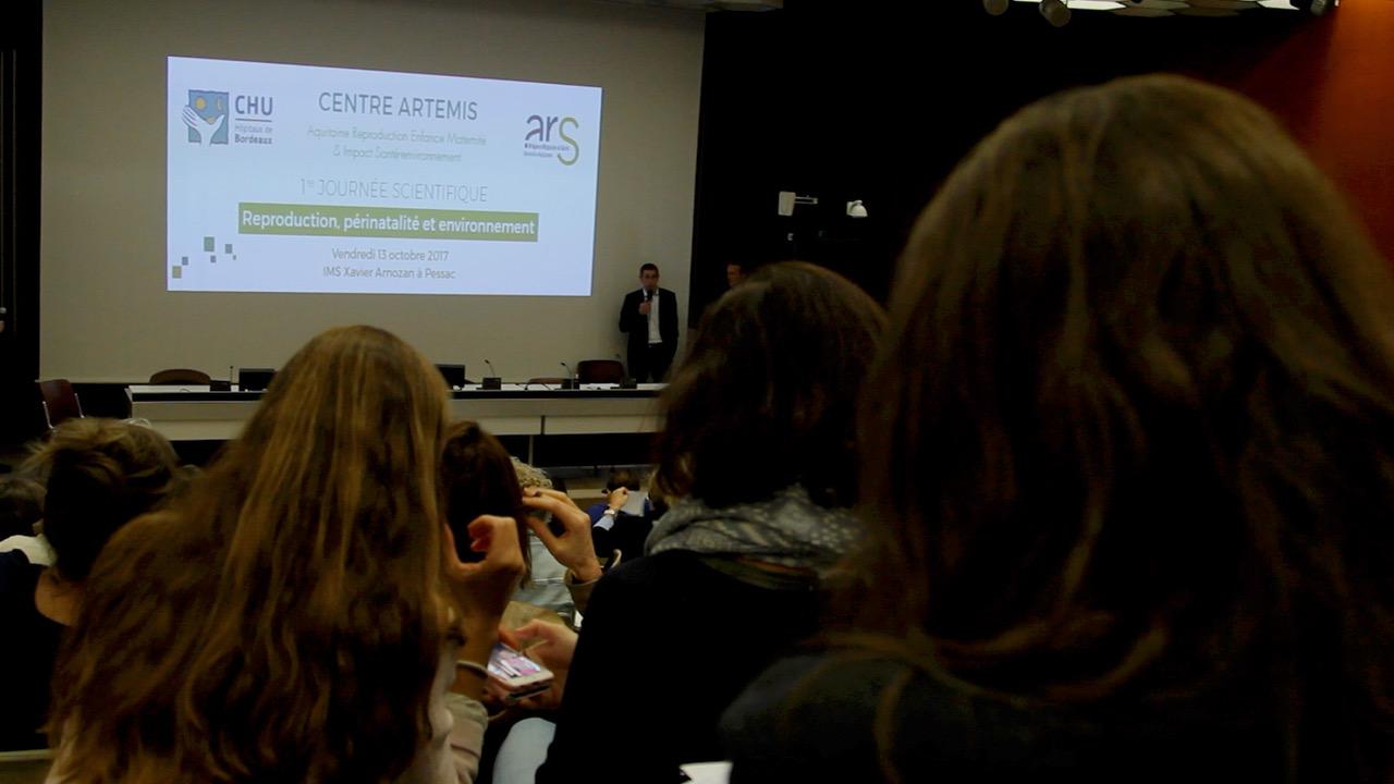 Le centre ARTEMIS du CHU de Bordeaux a organisé une 1ère journée scientifique © GRAINE Aquitaine