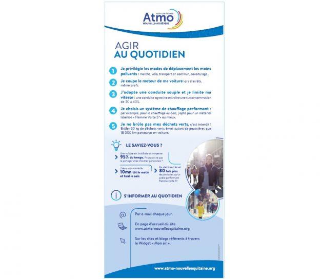 Les panneaux peuvent être exposés séparément ou ensemble © Atmo NA
