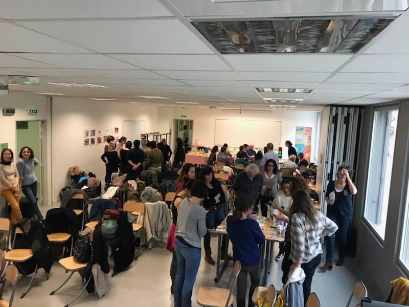 Des ateliers tournants étaient proposés aux participants © GRAINE Aquitaine