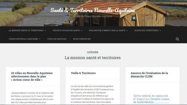 La plateforme Santé et Territoires © IREPS NA