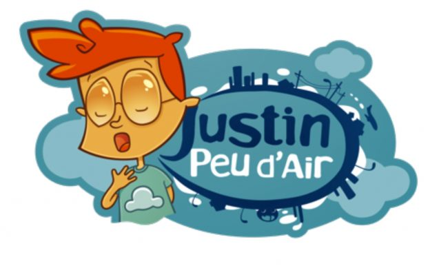 Logo Justin peu d'air