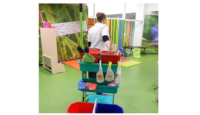 De nouveaux produits et de nouvelles procédures de nettoyage ont été validés © Grand Périgueux Recadrée