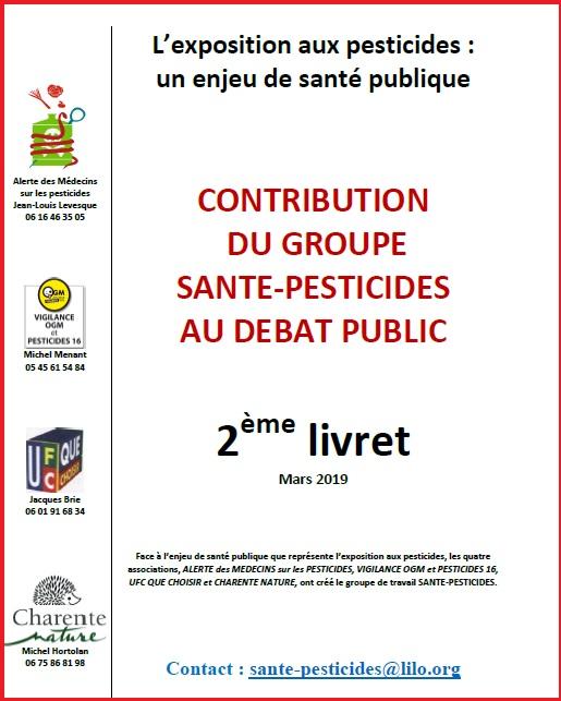 En mars 2019, le deuxième opus a été publié © Santé pesticides