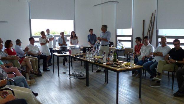 En 2017, une première réunion a réuni une trentaine de pharmaciens et médecins@ JPRebillard- Agence de l'eau Adour-Garonne
