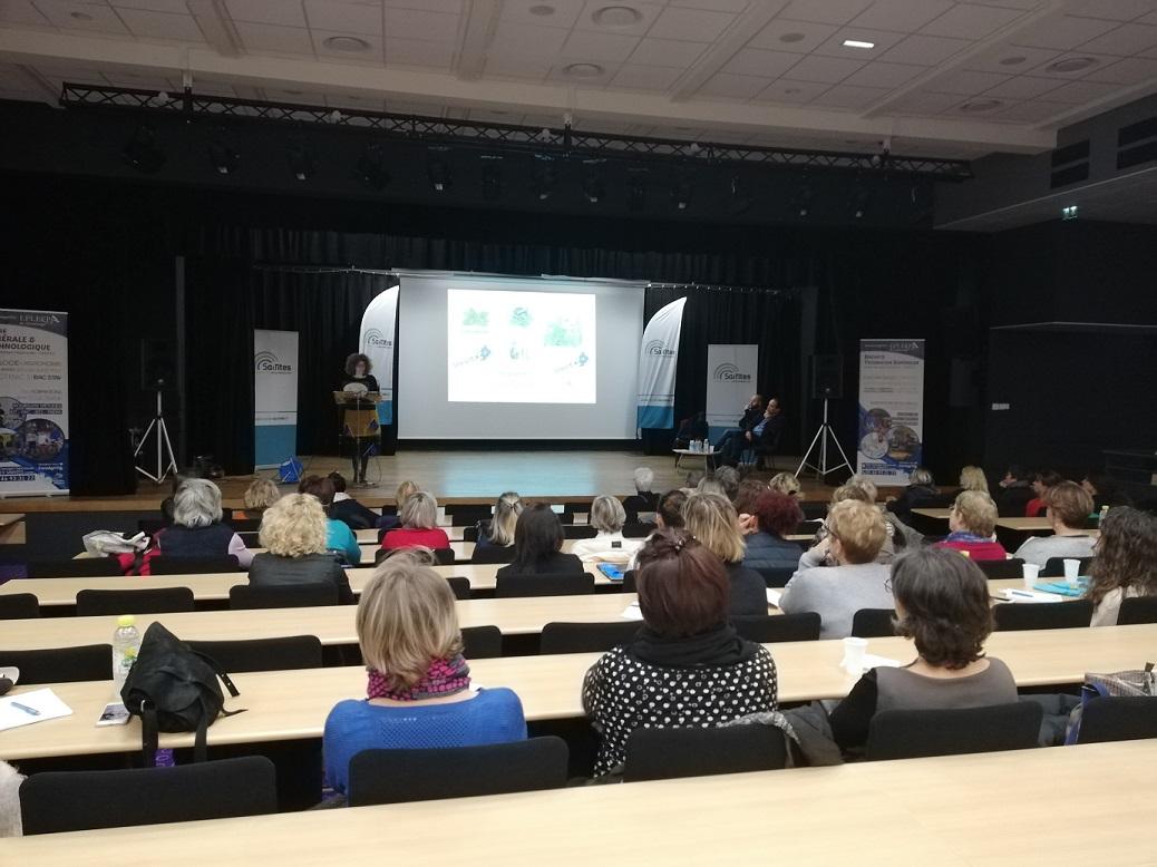 Cette conférence a rassemblé 63 personnes © CA Saintes