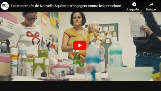Les maternités témoignent en vidéo © ARS NA