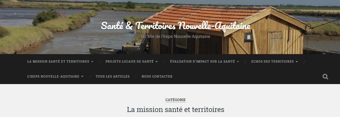 Site Santé & Territoires
