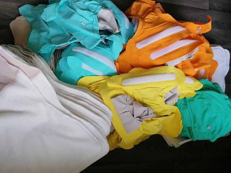 L'association accompagne le changement vers les couches lavables © Les Alternatives de Lilly