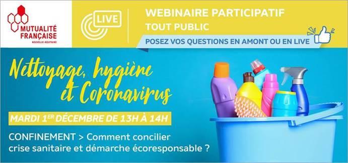 Nettoyage, hygiène et coronavirus@MFNA