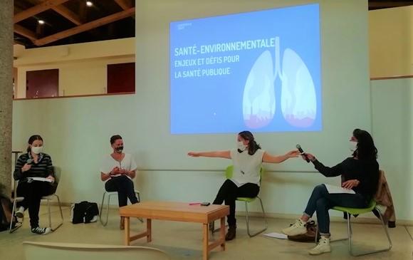 Pascaline Galy, Anaelle Aversa, Sarah Duvinage, Madina Querre © GRAINE NA
